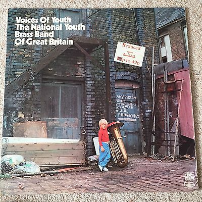 Vinyl LP 12 Record - Voices Of Youth The National Brass Band Of Great Britain