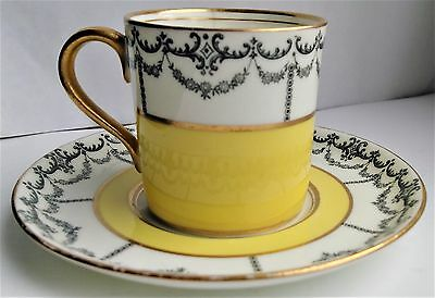 Antique Aynsley Demitasse Cup And Saucer