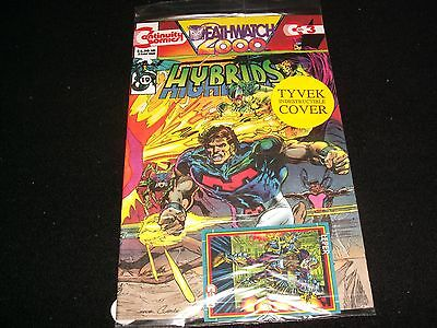 Deathwatch 2000°Hybrids No.3<>Sealed<>Continuity  Comics ~ With Trading Card
