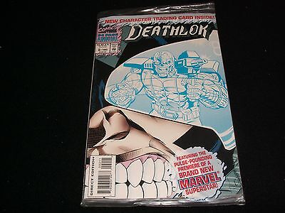 Deathlok 1°64 Page Annual<>Sealed<>Marvel  Comics ~1993- With Trading Card