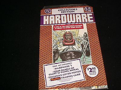 Hardware Collector's Edition<>Sealed<>Dc  Comics ~ With Trading Card