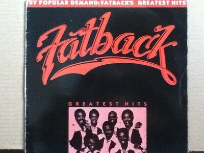 The   Fatback   Band            Lp        The  Best Of  Fatback