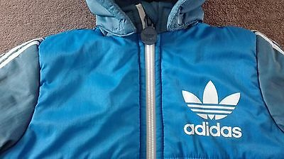 Adidas Baby Boy's Hooded Coat 6-9 M Boys 6 - 9 Months Jacket Excellent Condition