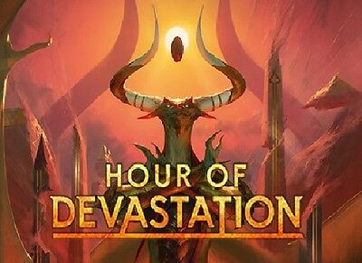 MTG Complete Hour of Devastation Uncommon and Common set x 4 Magic the Gathering