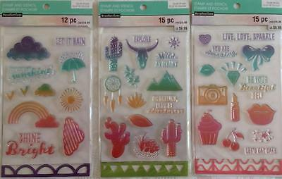 Recollections - Stamp & Stencil - Bundle