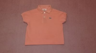 Lacoste Baby Boy's Polo Shirt Size 1 Year Boys 12M Months Authentic Genuine Vgc