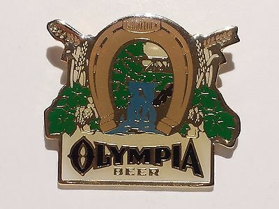 Old Olympia Beer * Pinback / Lapel Pin