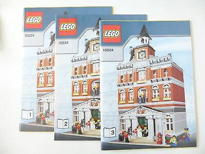 Lego 10224 Bauanleitung Rathaus OBA Instructions Town Hall