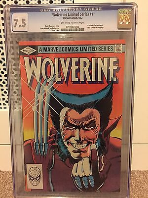 Wolverine Limited Series #1 (1st Solo) CGC 7.5