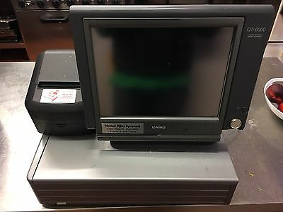 Casio QT-6000 Till, With Cash Tray,