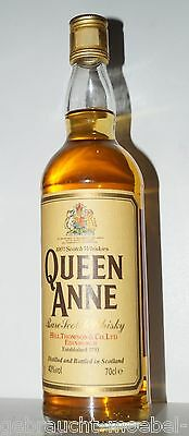 35 Jahre old Bottle alter seltener Queen Anne rare scotch whisky bottled 1980's