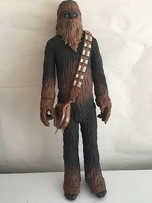 "STAR WARS 20"" Action Figure CHEWBACCA 2014 Lucasfilm Ltd Jakks Pacific EUC"