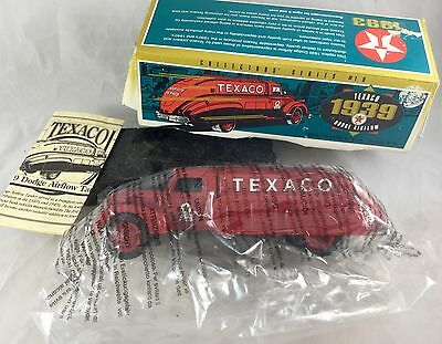 ERTL Texaco 1939 Dodge Airflow Tanker Coin Bank Collectors Series 1993 in Box