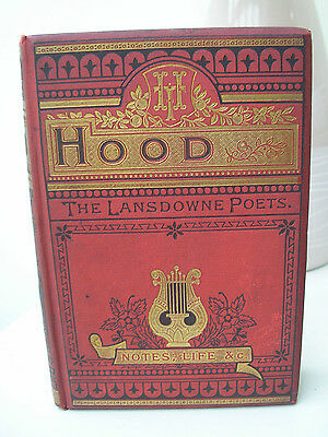 Antique book -The Lansdowne Poets Thomas Hood by F Warne & Co
