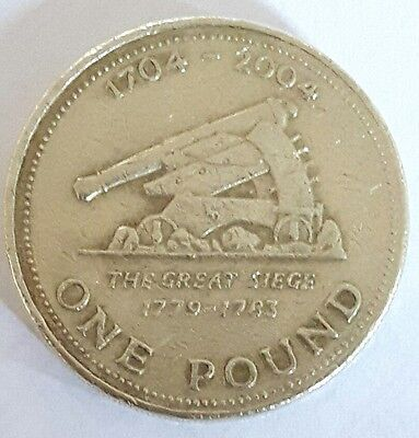 One pound coin The Great Siege £1