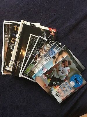 Derby County Football Programmes