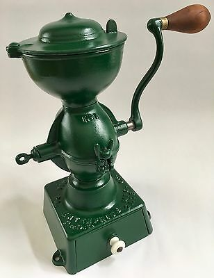 1873 Pat Antique American ENTERPRISE No. 1 Upright Cast Iron Coffee Mill/Grinder