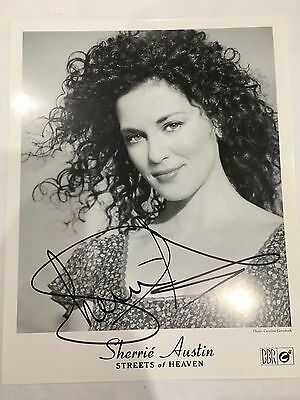 "Sherrie Austin ""Streets Of Heaven"" Singer 8 x 10 Hand Signed Photo Autograph"