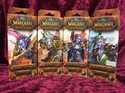 World of Warcraft 4x Character Packs Moondreamer, Bloodsinger, Swiftblade New