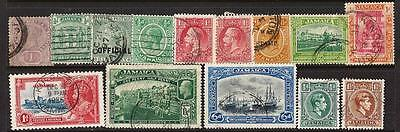 Jamaica -Gv/gvi  Small Coll. Used.