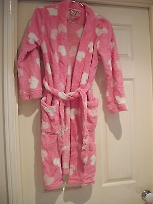 Childs winter dressing gown small