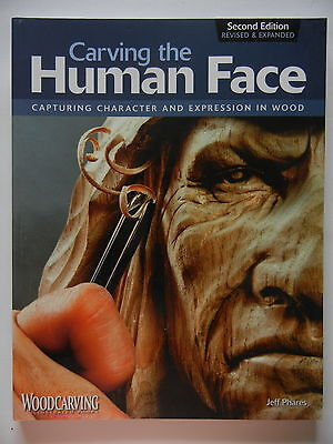 CARVING THE HUMAN FACE 2nd EDITION - WOOD CARVING
