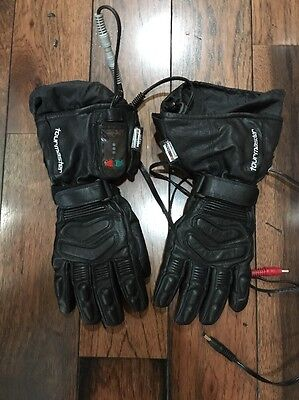 Tourmaster Synergy 2.0 Electrically Heated Textile Gloves, Black, XL