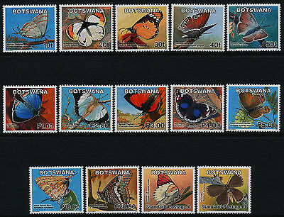 Botswana 843-56 MNH Insects, Butterflies