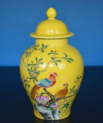 Exquisite Chinese Famille Rose Porcelain Vase Marked Yongzheng Rare H8901
