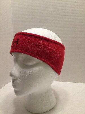 Under Armour Red fleece headband/ear warmer Large Adult
