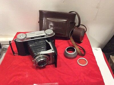 RARE VOIGTLANDER BESSA II 6X9CM CAMERA WITH Case And Lens