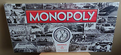 HONDA of CANADA 30th Anniversary MONOPOLY Collector's Edition GAME-NEW Sealed