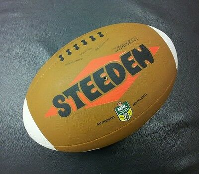 Steeden NRL Heritage Round Symmetry Full Size 5 Rugby League Match Ball *NEW*