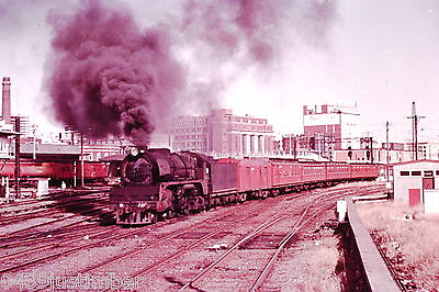 Victorian Railways Steam R720 Departing Spencer Street Station For Geelong 1964