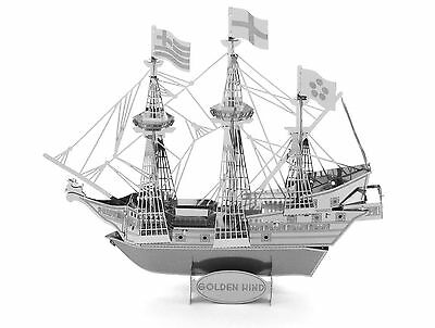 Metal Earth 3D Metal Model - Golden Hind Ship