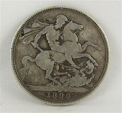 Great Britain 1890 Silver Crown