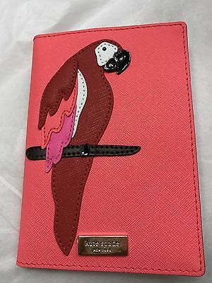 NWT Kate Spade Talk The Talk Parrot Passport/Credit Card Holder