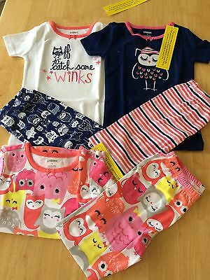 NWT Gymboree OWL Gymmies Shortie pajamas Set PJ 4 5 6 7 8 10 Girls