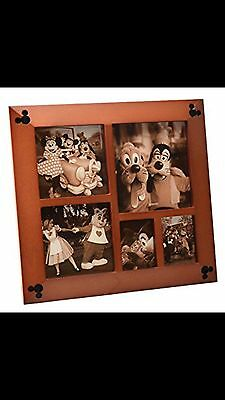 Disney Parks Multi Square Cherry Photo Frame Authentic