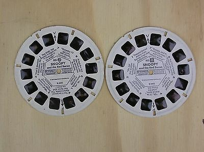 GAF ViewMaster Reel  Snoopy and the Red Baron    1969    Reels 2, 3
