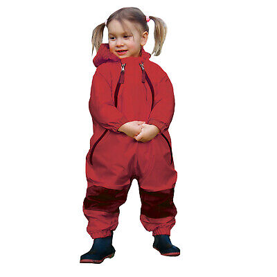 Muddy Buddy All in one Rainsuit Coveralls Red 12mths / 9kg TUFFO