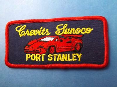 Crevits Sunoco Gas Oil Service Station Port Stanley Patch Employee Ontario