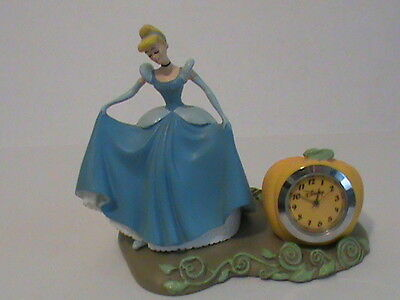 Cinderella Desk Clock Disney