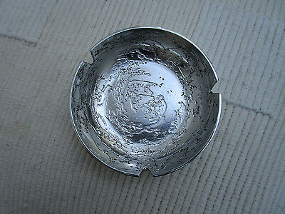 RARE   RETRO  DON SHEIL ,AUSTRALIA ,  Metalwork  LUNA   ,ASHTRAY