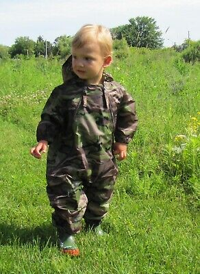 Muddy Buddy All in one Rainsuit Coverall Camouflage 18mths / 11kg TUFFO