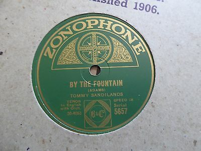 10 x ZONOPHONE label 78s. All pictured. Ex - to EX + (1)