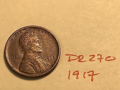 1917 1C BN Lincoln Cent (DR270)