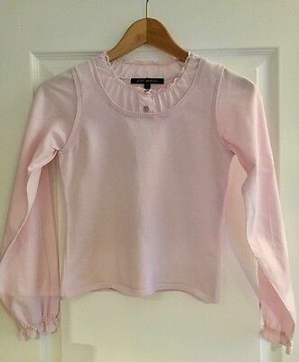 Pull Chemisier Rose Taille 12 Ans Lili Gaufrette