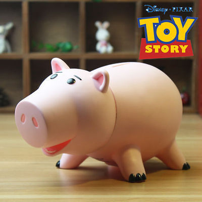 New Toy Story Hamm Coin Piggy Bank Figure Toy Saving Money Box Xmas Gift No Box