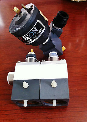 Semitool/ AMAT SRD 2 Stage N2 Valve w/ Connector & Nason Electric Switch ST-260